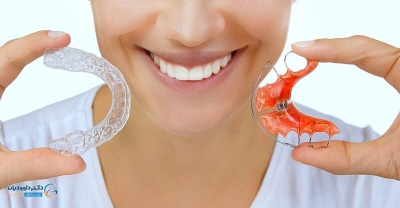 ریتینر و یا نگهدارنده ارتودنسی دندان
